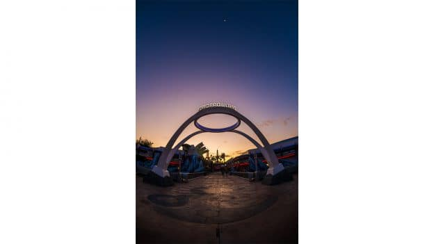 Tomorrowland at Magic Kingdom Park