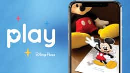 Mickey Mouse in the Play Disney Parks App