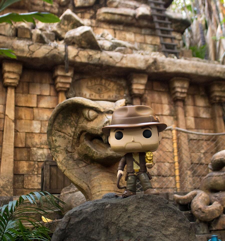 Comemore o 25º aniversário da aventura Indiana Jones no Disneyland Park