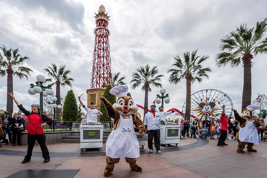 """Jammin Chefs,"" at Disney California Adventure park"