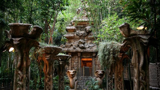Indiana Jones Temple at Disneyland Park