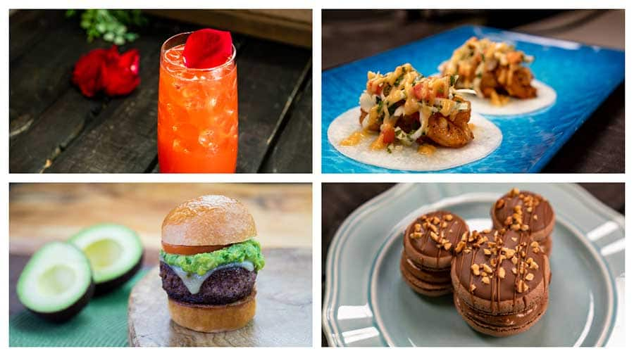 Food offerings at the Disney California Adventure Food & Wine Festival