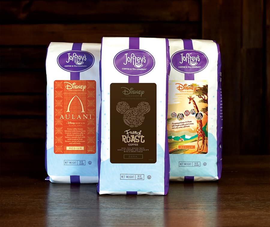 Joffrey's Coffee and Tea at Disney Springs at home roasts
