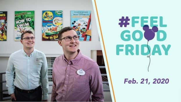 #FeelGoodFriday: Feb 21, 2020 - Cast Members Michael and Scott Stile