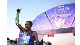 Marko Cheseto at the Disney Princess Half Marathon