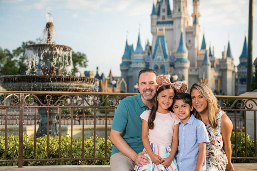Family at Magic Kingdom Park