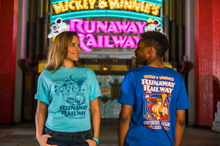 Mickey & Minnie's Runaway Railway T-shirts