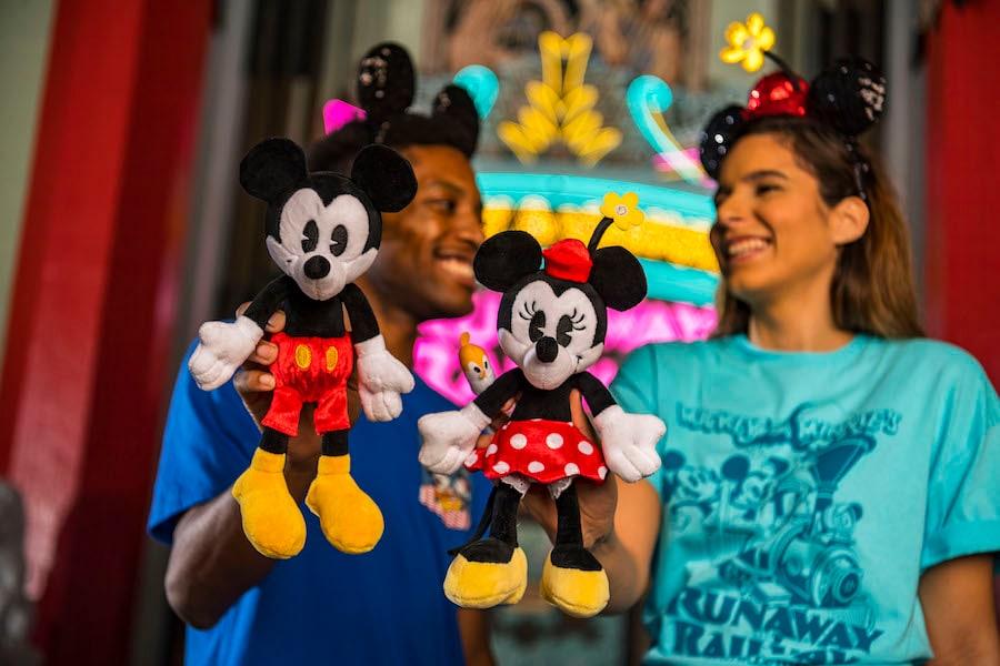 Mickey & Minnie's Runaway Railway Plushes