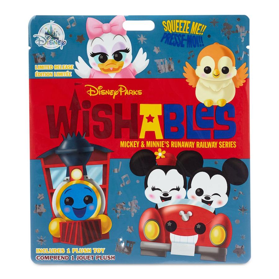 Mickey & Minnie's Runaway Railway Wishables