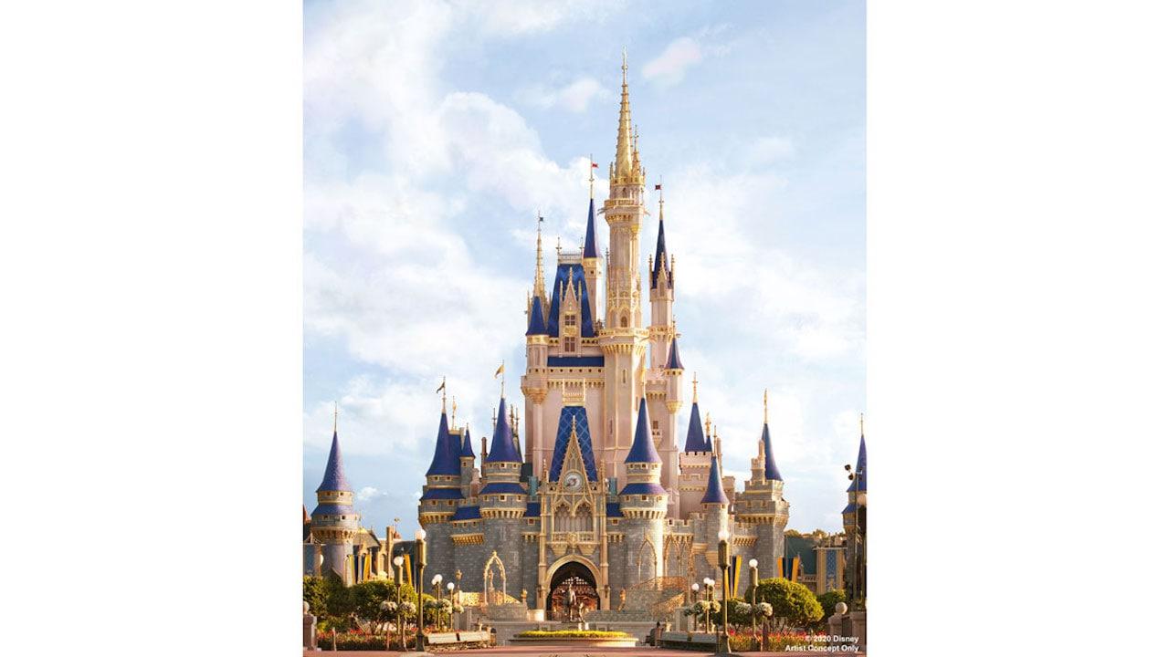 Cinderella Castle at Walt Disney World Resort to Receive Royal Makeover