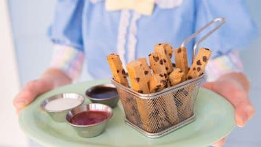 Cooking Up the Magic: Plant-Based Cookie Fries from Beaches. & Cream Soda Shop