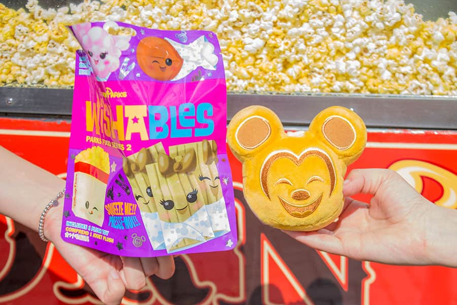 New Collection of Classic Snack and Food Wishables, Disney Parks
