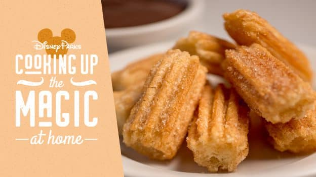 Cooking Up the Magic: Create #DisneyMagicMoments at Home with Disney Parks Churro Bites