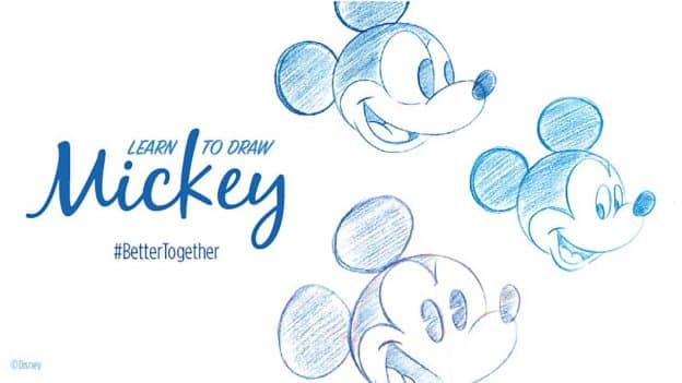 Learn to Draw Mickey Mouse Tutorials