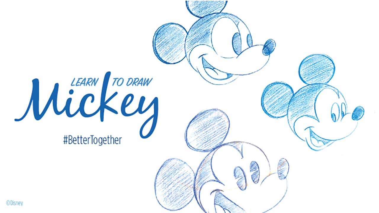 Draw Mickey Mouse At Home With A Disney Parks Artist Disney Parks Blog