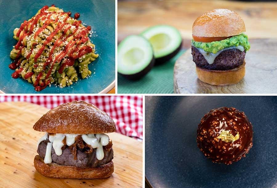 Food options, Disney California Adventure Food & Wine Festival