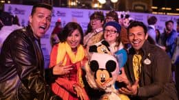 "Disneyland Resort Ambassadors and cast members at ""Magic Happens"" cast-exclusive event"