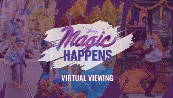 Disney Magic Happens Virtual Viewing