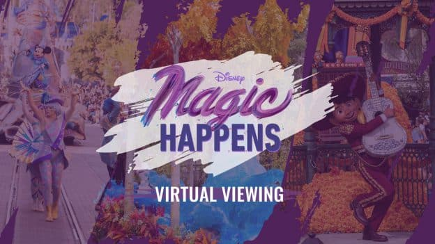 Disney Magic Happens Virtual Viewing