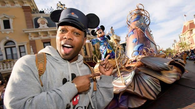 'Magic Happens' parade at Disneyland park