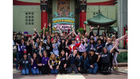 Osceola County students at Disney's Hollywood Studios