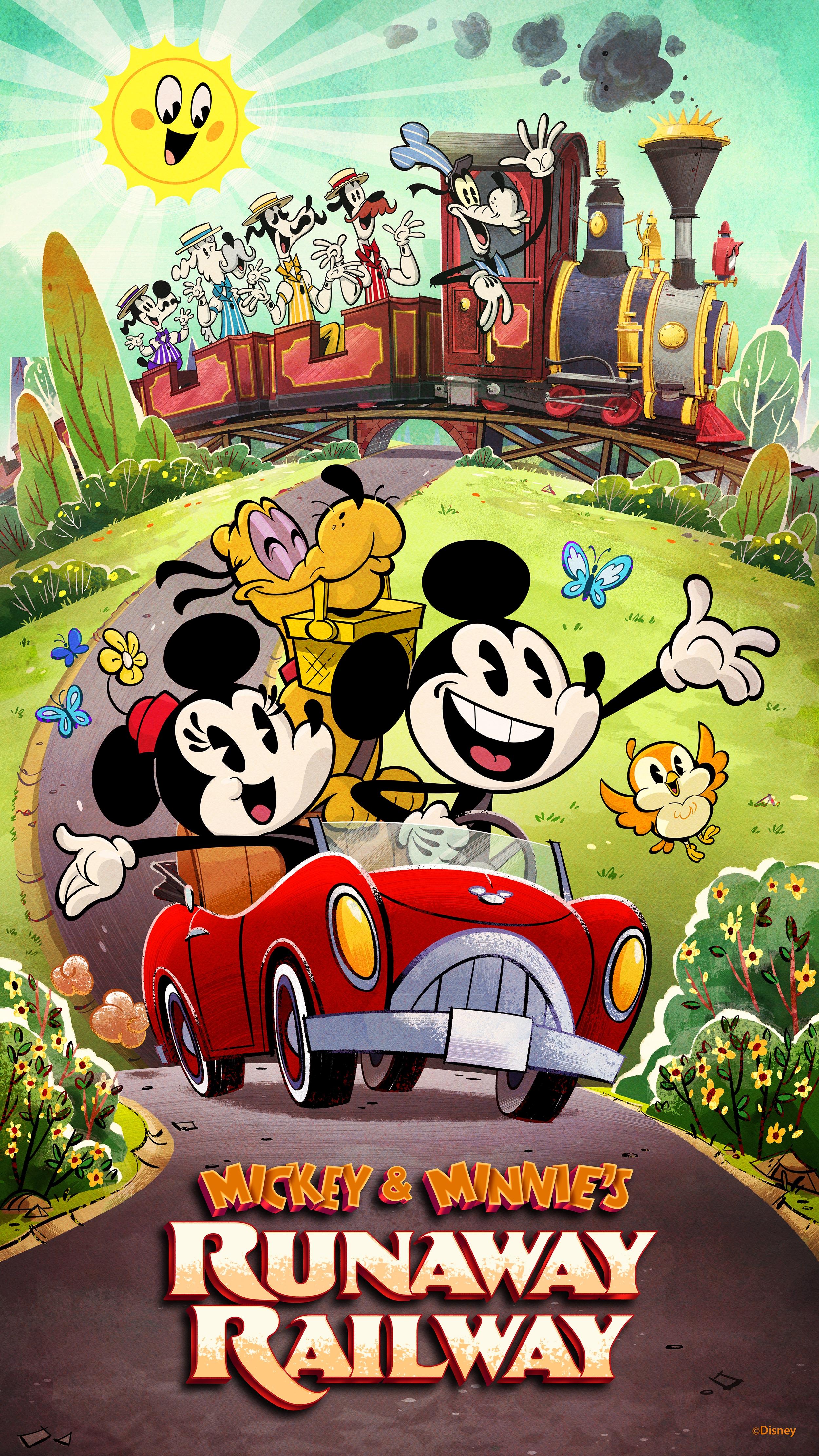 Exclusive Poster Series Celebrates Mickey Minnie S Runaway Railway At Disney S Hollywood Studios Disney Parks Blog