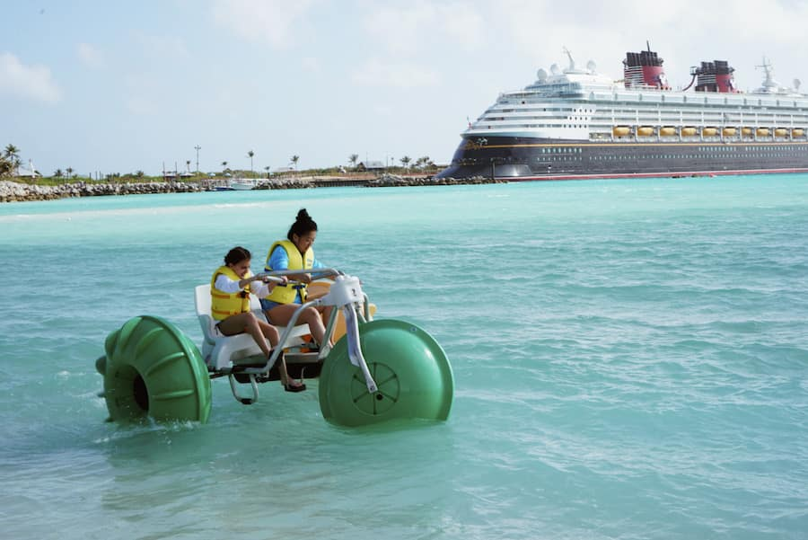 Freeform stars at Castaway Cay