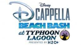 Disney DCappella Beach Bash at Typhoon Lagoon