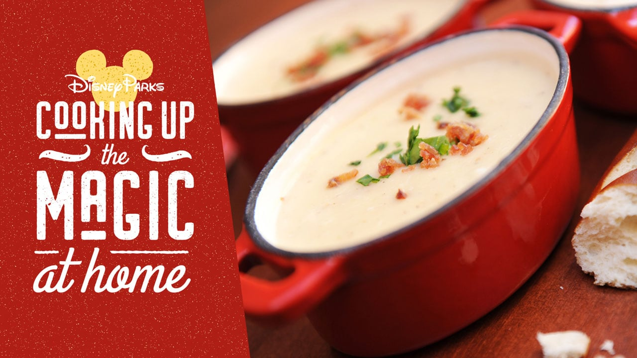 #DisneyMagicMoments: Recipe for Popular Canadian Cheddar Cheese Soup from Le Cellier Steakhouse at EPCOT — First-Time Release on Disney Parks Blog