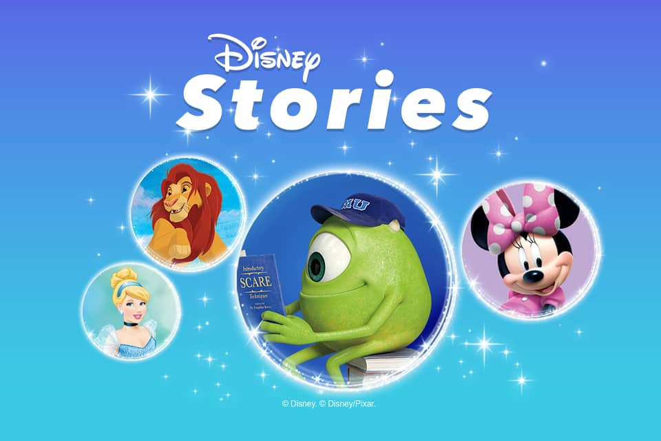 Disney Stories stickers