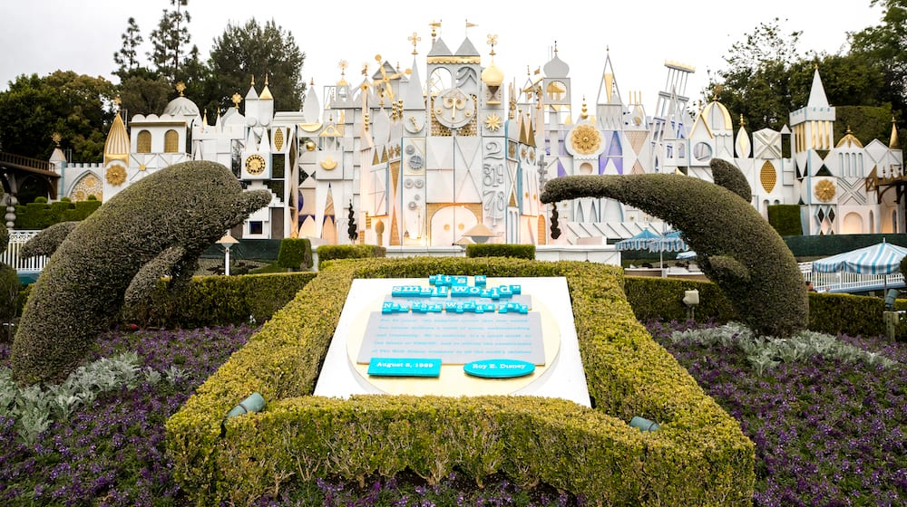 its a small world at Disneyland Resort