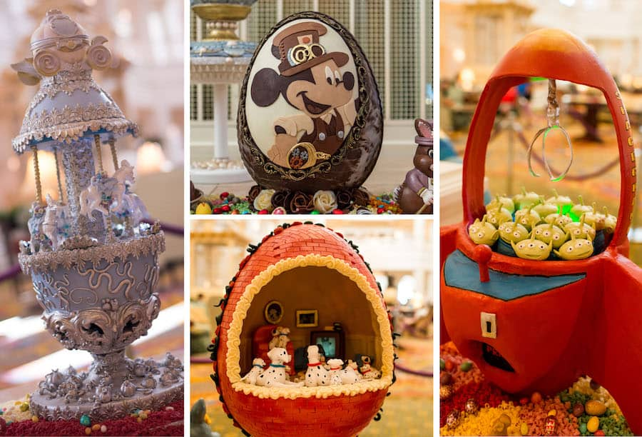 Easter Egg Displays from Disney's Grand Floridian Resort & Spa