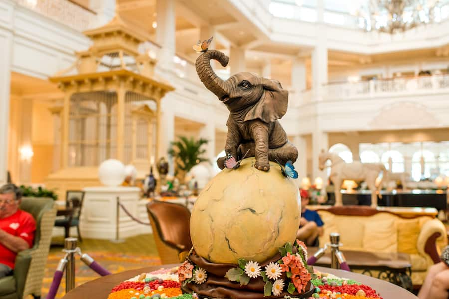 Easter Egg Display from Disney's Grand Floridian Resort & Spa