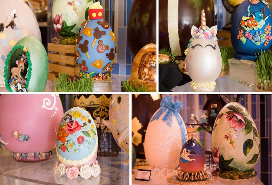 Easter Egg Displays from Disney's Contemporary Resort