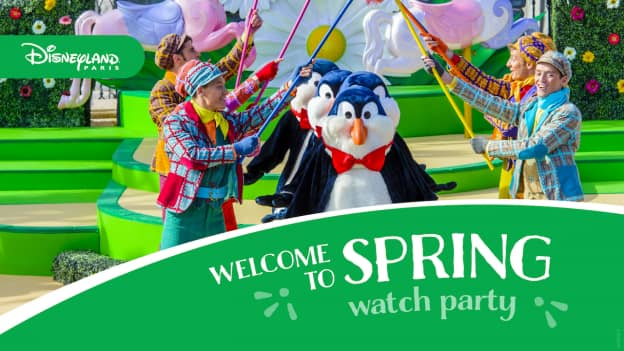 'Welcome to Spring ' at Disneyland Paris