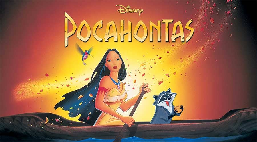 "Image of the movie ""Pocahontas"""