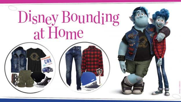 Disney Bounding at Home: Embrace Your Inner Wizard with Ian & Barley from 'Onward'