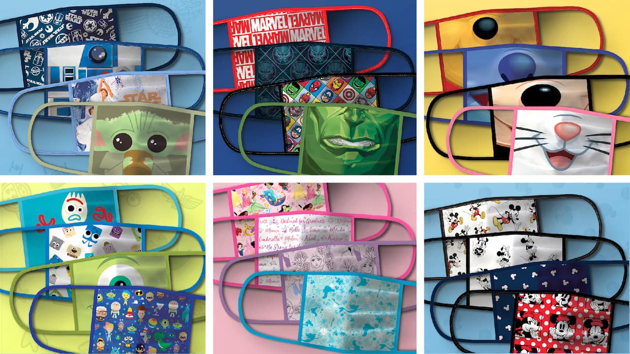 Disney Introduces Cloth Face Masks and Donations for Families and ...