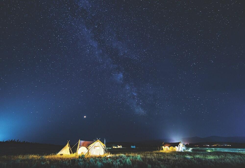 Starts over Montana