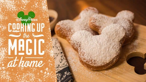 Magical Mickey Mouse-shaped Beignets