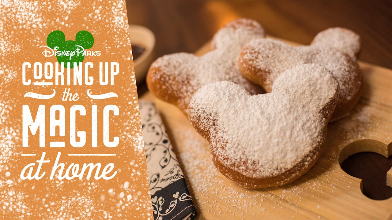#DisneyMagicMoments: Create Magical Mickey Mouse-shaped Beignets at Home with this Fan-Favorite Classic Disney Recipe
