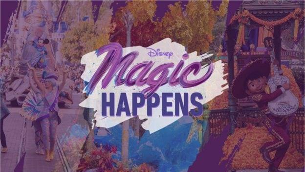 'Magic Happens' Parade