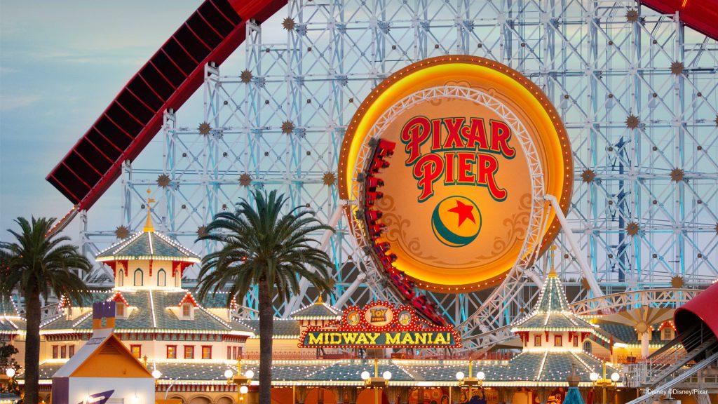 Disney Zoom Backgrounds Photos Of Magic Kingdom Pixar Pier