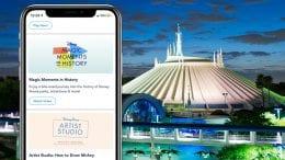 Disney Experience Mobile App