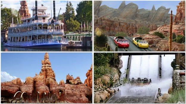 Collage of Disneyland Resort