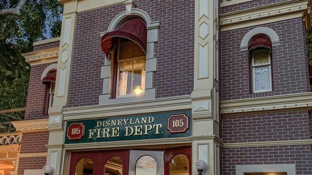 Walt Disney's apartment in Disneyland park