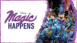 """Magic Happens"" parade"