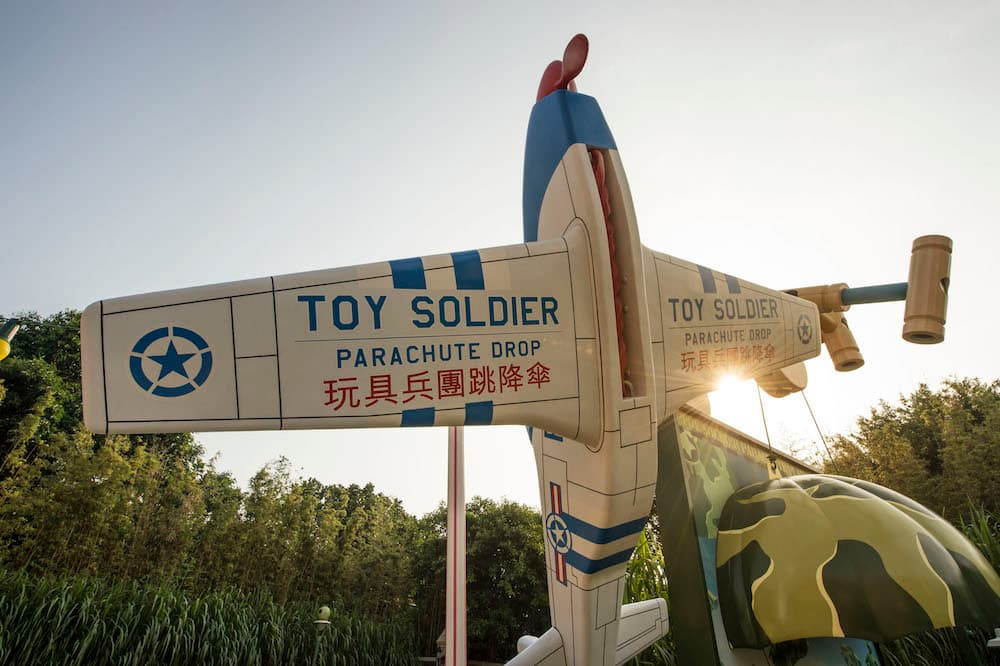 Toy Story Land, Hong Kong Disneyland Park