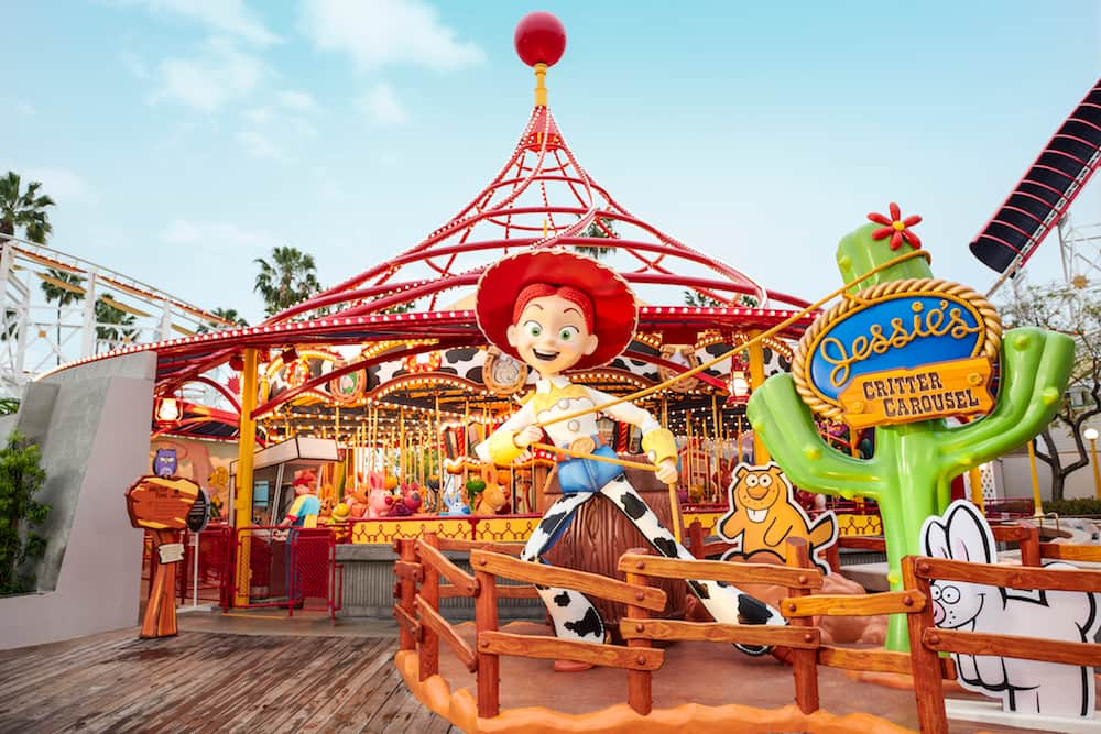 Pixar Pier, Disney California Adventure Park, Disneyland Resort