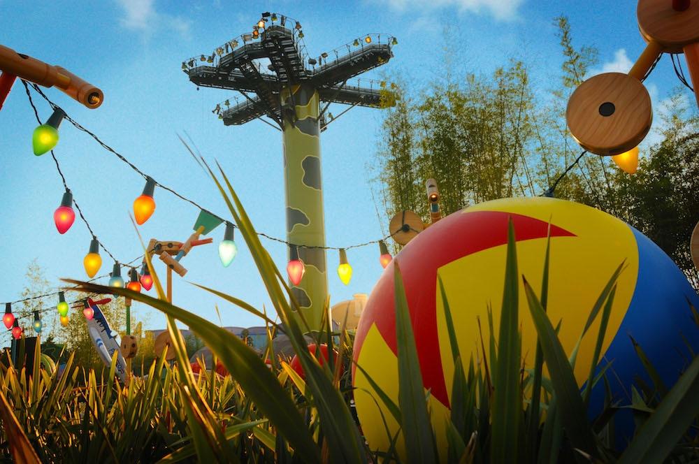Toy Story Playland, Walt Disney Studios Park, Disneyland Pairs